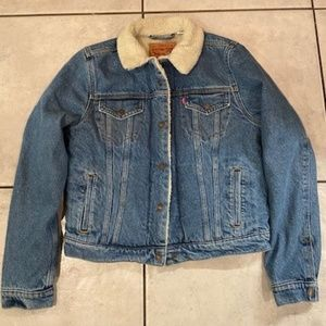 NWT Levi's Lined Jeans Jacket